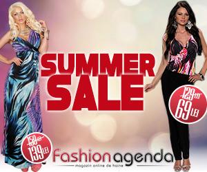 Summer Sale fashionagenda, reduceri de pana la 70%