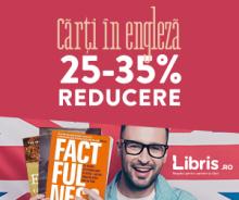 25-35% Reducere la TOATE titlurile in engleza
