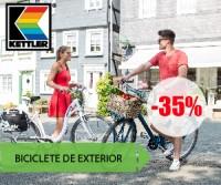 35% reducere la biciclete de exterior Kettler