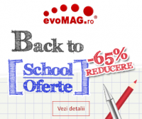 Back to School, oferte si reduceri de pana la 65%