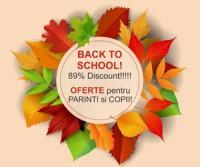 Back to School! Super oferte pentru copii si parinti