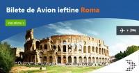 Bilete de avion ieftine catre Roma de la 18 Euro