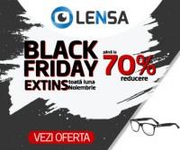 Black Friday Lensa cu reduceri de pana la -70% la ochelari si lentile