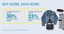 Buy More, Save More - 25% sau 30% reducere la orice