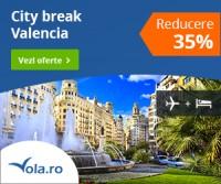 City Break Valencia reducere 35%