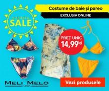 Costume de baie si Pareo la pret unic 14,99 lei! Summer Sale!