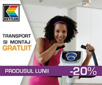 Cupon 7% reducere la aparate fitness profesionale Kettler