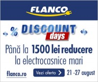 Discount Days – Pana la 1500 Lei reducere la electrocasnice mari