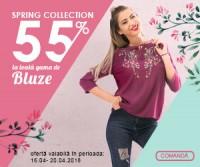 Flash Sale, 55% reducere rochii si bluze de primavara
