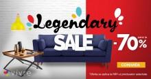Legendary Sale, reduceri de pana la 70% la produse pentru casa