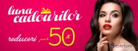 Luna Cadourilor - Reduceri pana la 50% la produse cosmetice, parfumuri, carti, ceasuri si bijuterii