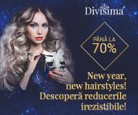 New Year, new hairstyles! Reduceri irezistibile de pana la 70%