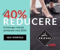 Pana la -40% la intreaga colectie de vara Tezyo