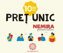 Peste 100 de titluri cu pret unic 10 lei de la Nemira, carti bune reduse chiar si cu 85%