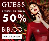 Reduceri de pana la 50% la haine si accesorii GUESS