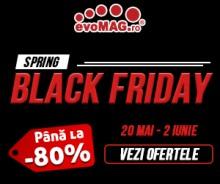 Spring Black Friday cu Reduceri de pana la 80%