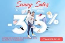 Sunny Sales, 35% REDUCERE la toate produsele